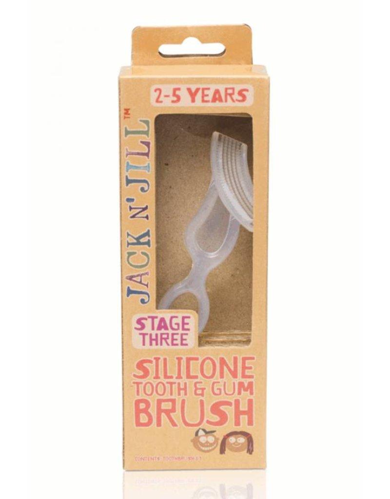 Jack n Jill Jack N Jill Silicone tooth & gum brush