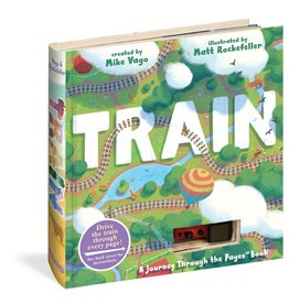 WPC Train Book (w/car)