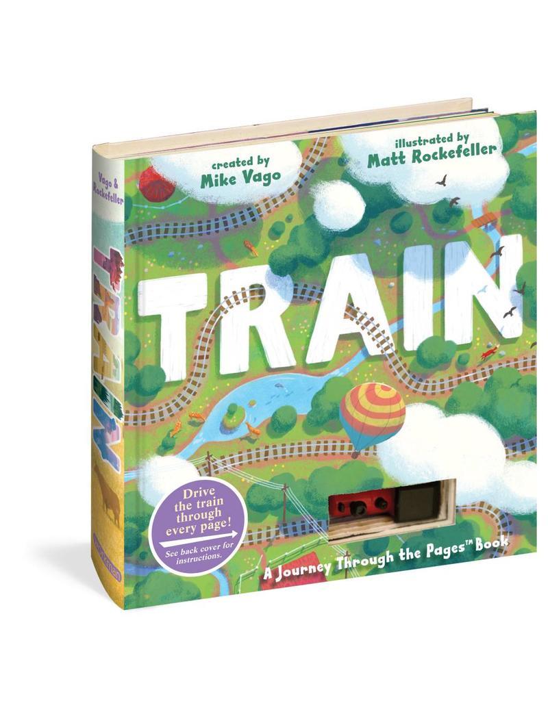 WPC Train Book (w/car)