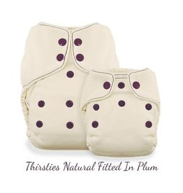 Thirsties Thirsties Natural Fitted Snap