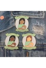 Little Lovelies Studio Breastfeeding Pins by Little Lovelies Studio