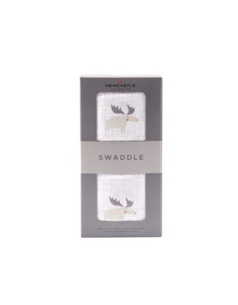 Newcastle Classics Cotton Muslin Swaddle