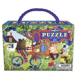 Bear on Bicycle Puzzle