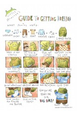 "Little Monsters Little Monster's Guide Get Dressed 8"" x10"""