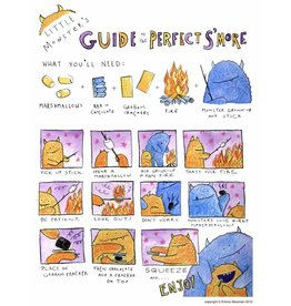 "Little Monsters Little Monster's Guide Make S'mores 8"" x10"""