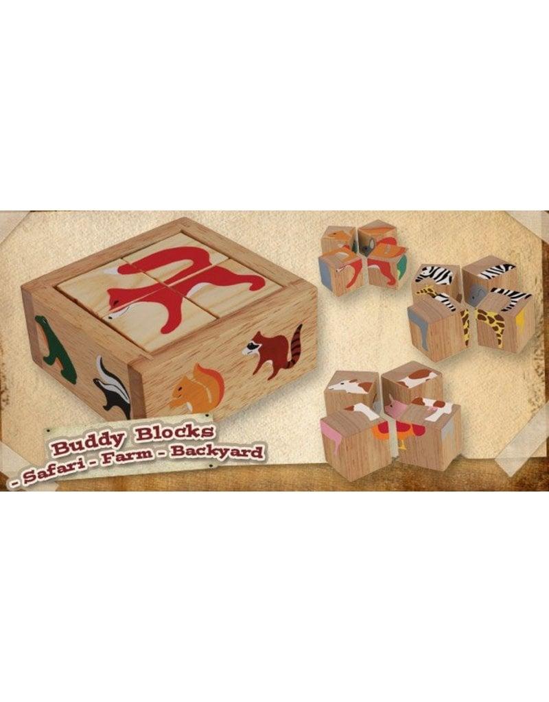 Begin Again Toys Begin Again Buddy Blocks Puzzle Set