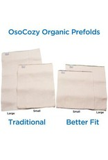 OsoCozy Organic Cotton Prefolds