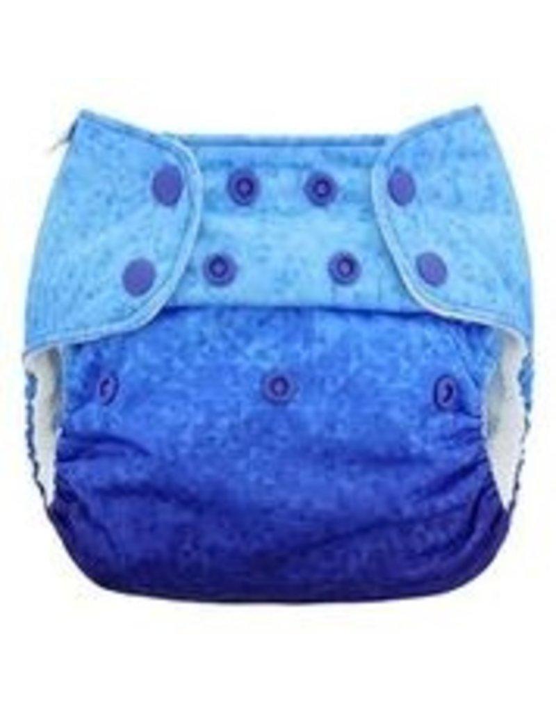 Blueberry Capri Diaper Cover Print LE - Size 2