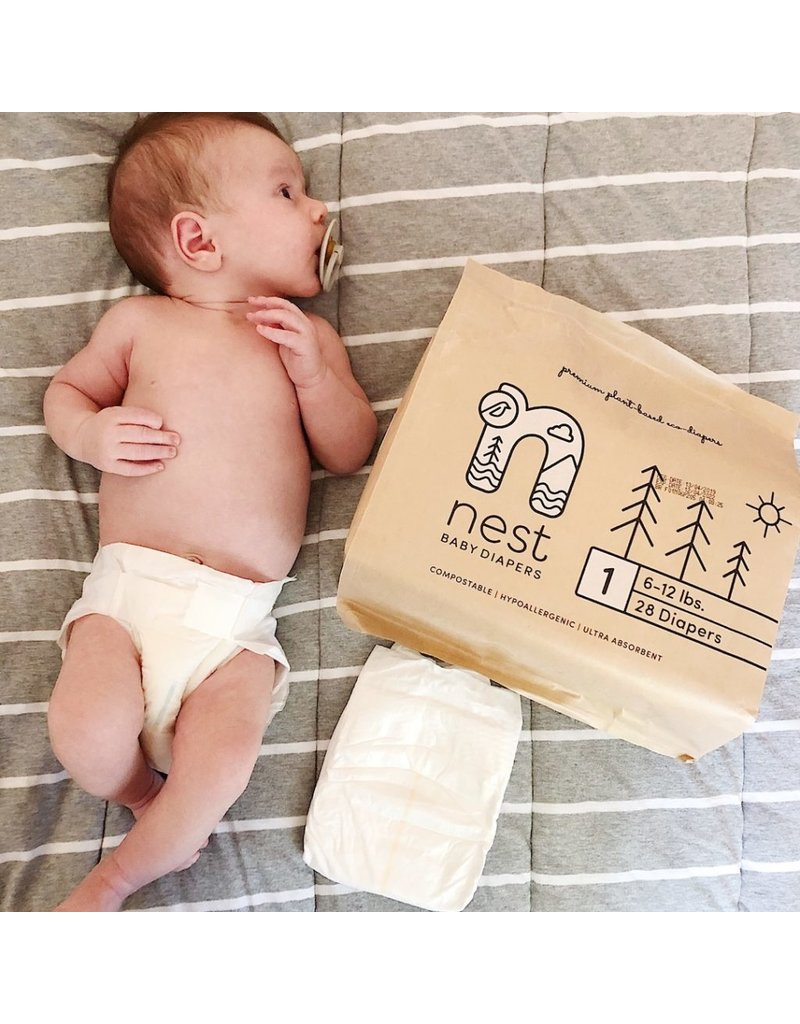 Nest Nest - Natural Plant Based Baby Disposable Diapers