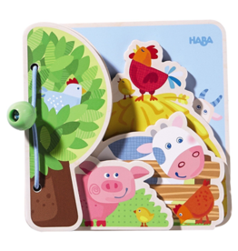Haba Farm Friends Baby Book