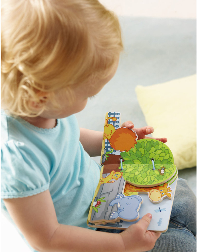 Haba Baby Book Zoo Friends