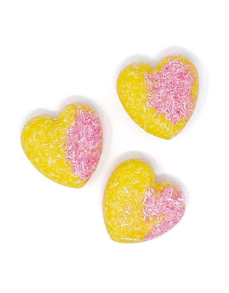 Feeling Smitten Strawberry Lemonade Heart Shampoo + Conditioner Bar