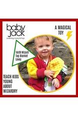 Learning Lovey Wizard 14 in x 18 in Blanket