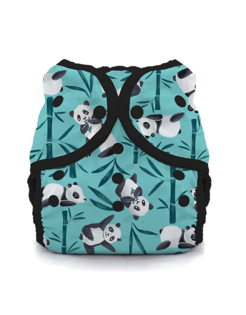 Thirsties Thirsties Duo Wrap  Pandamonium Size One Snap