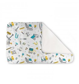 Rumparooz Rumparooz Changing Pad Print LE Nuts + Bolts One Size