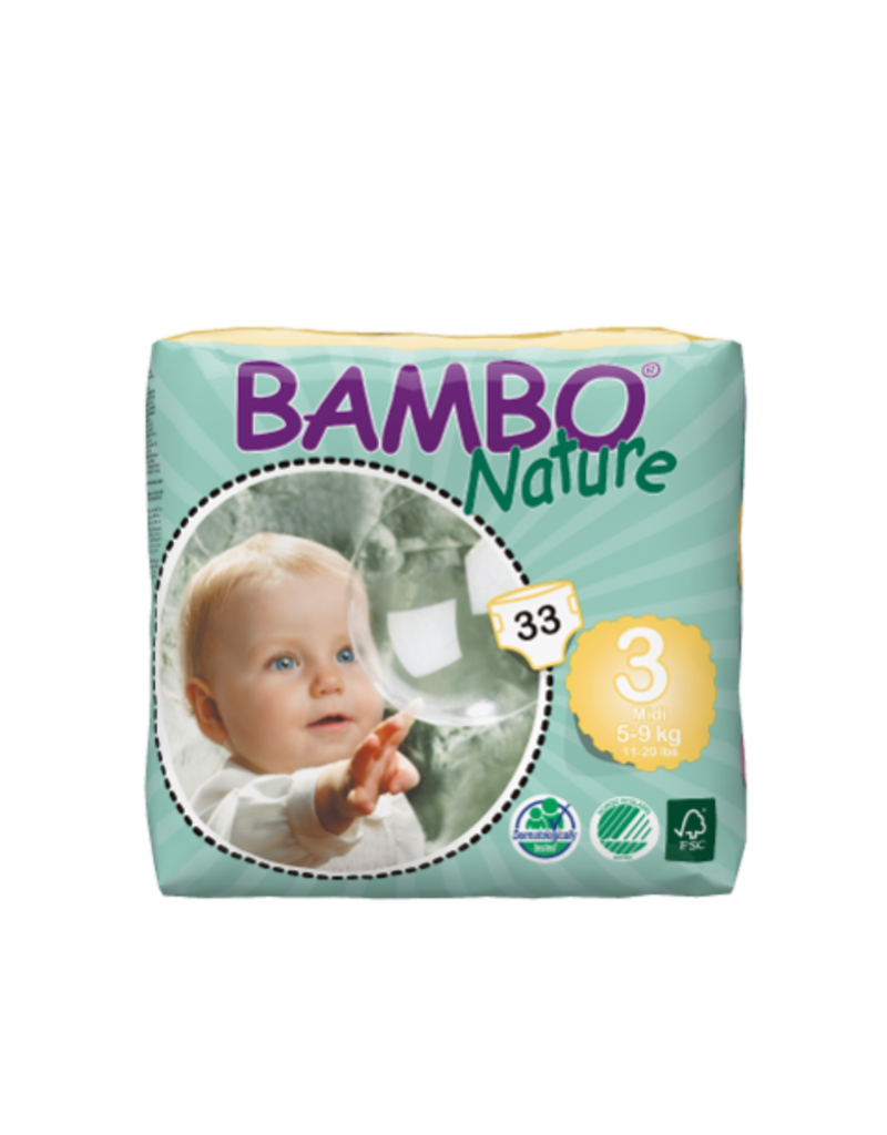 Bambo Bambo Nature Classic Diapers