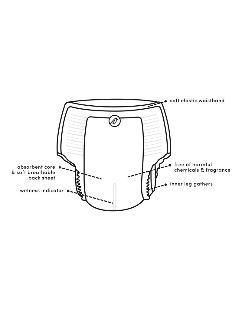 Nest Nest - Natural Plant Based Disposable Training Pants