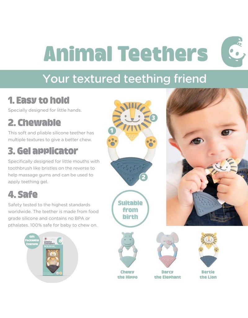Cheeky Chompers Animal Teethers
