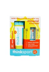 thinkbaby Thinkbaby Kids Safe Sunscreen Combo Pack