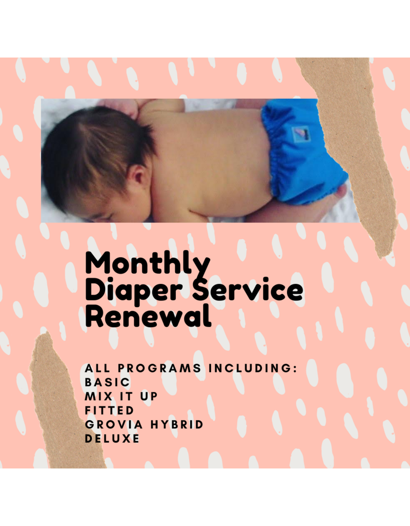 Diaper Service Renewal (Monthly)