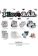 Rumparooz Rumparooz Wet Bag Mini - Print I LOVE RAR