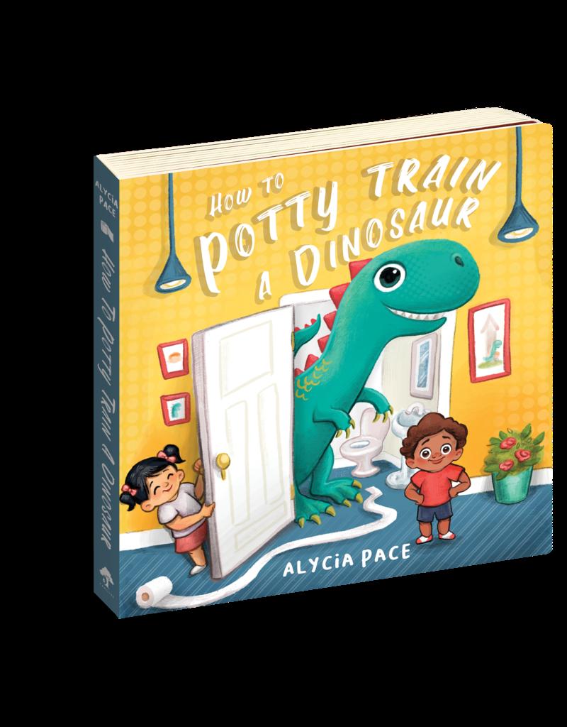 Familius How to Potty Train a Dinosaur Book