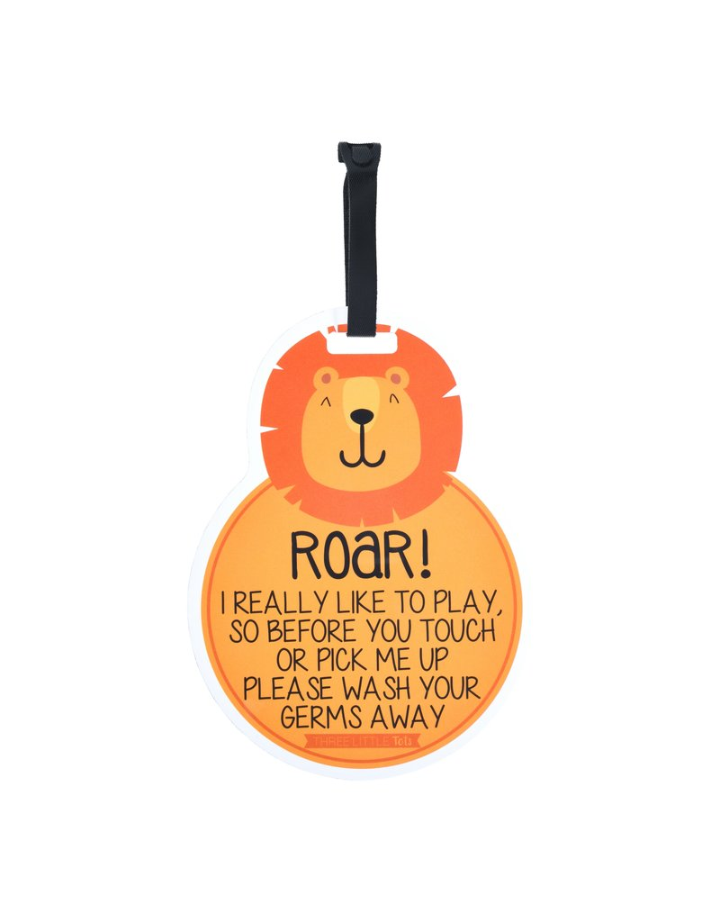 Three Little Tots Three Little Tots Car Seat and Stroller Tag