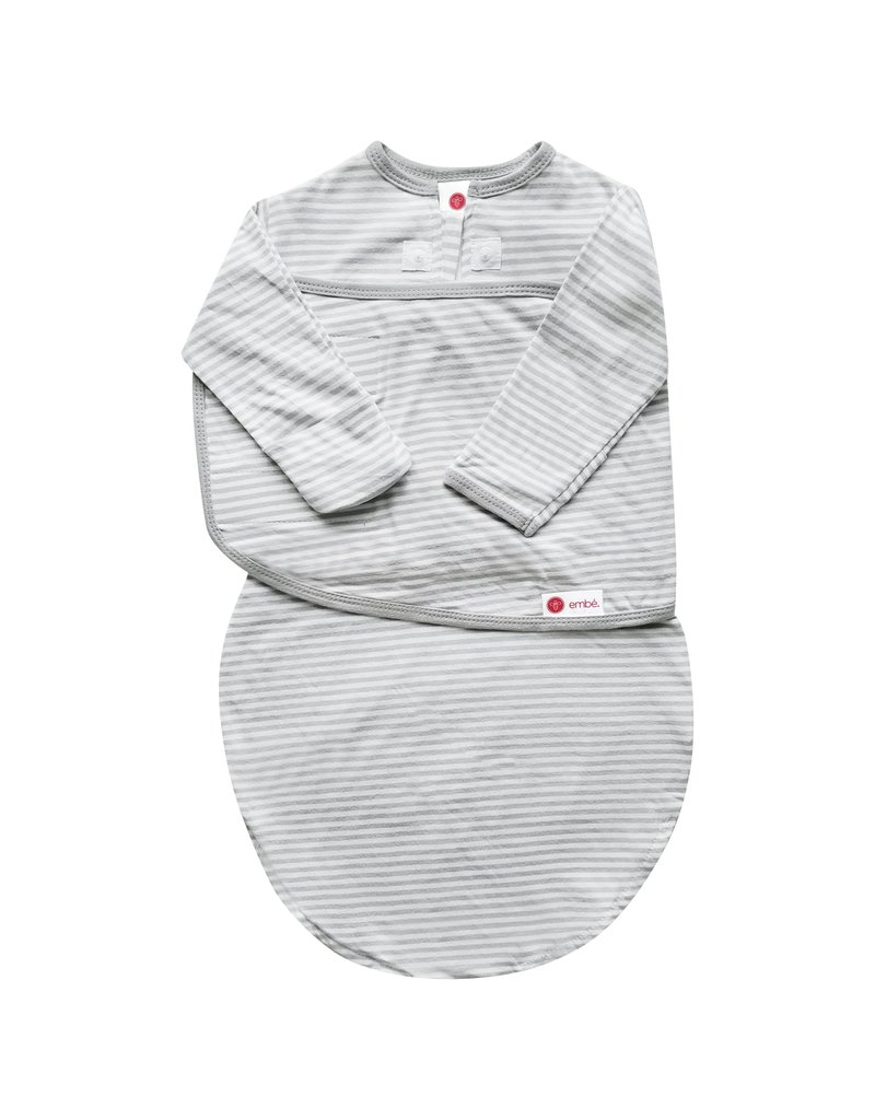 Embe Embe Starter Swaddle With Long Sleeves