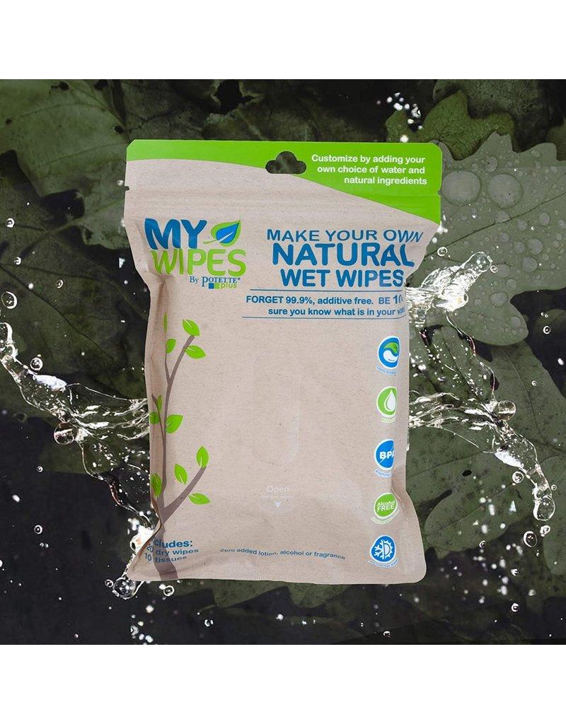 Kalencom Corp. Kalencom On the Go Natural Wet Wipe Pack