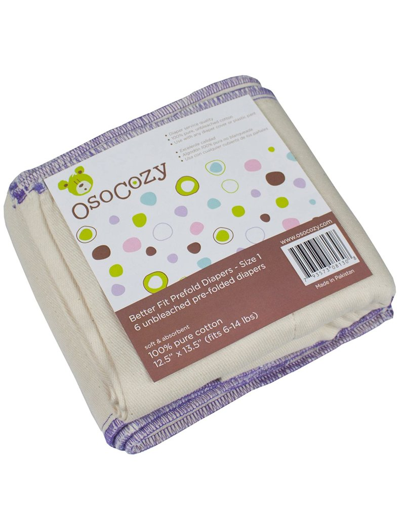 OsoCozy OsoCozy Cotton Prefolds