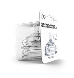 Comotomo Comotomo Baby Bottle Silicone Replacement Nipples
