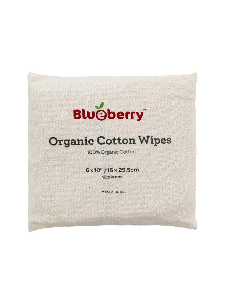 Blueberry Blueberry Organic Cotton Wipes