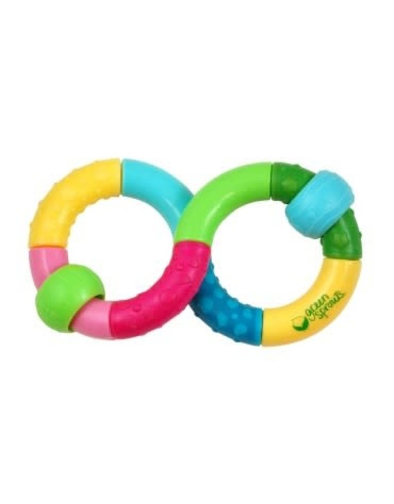 Green Sprouts Green Sprouts Multicolor Infinity Rattle