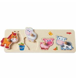 Haba Haba Baby Farm Animals Puzzle