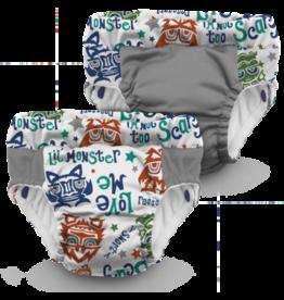 Rumparooz Lil Learnerz Trainers  LilMonster XS - 2 pack