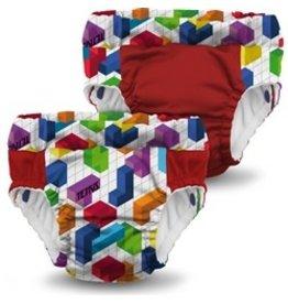 Rumparooz Lil Learnerz Trainers Tetris Block Party XS - 2 pack