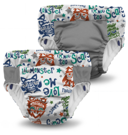 Rumparooz Lil Learnerz Trainers LilMonster Medium - 2 Pack