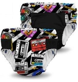 Rumparooz Lil Learnerz Trainers MixTape/Phantom Large - 2 Pack