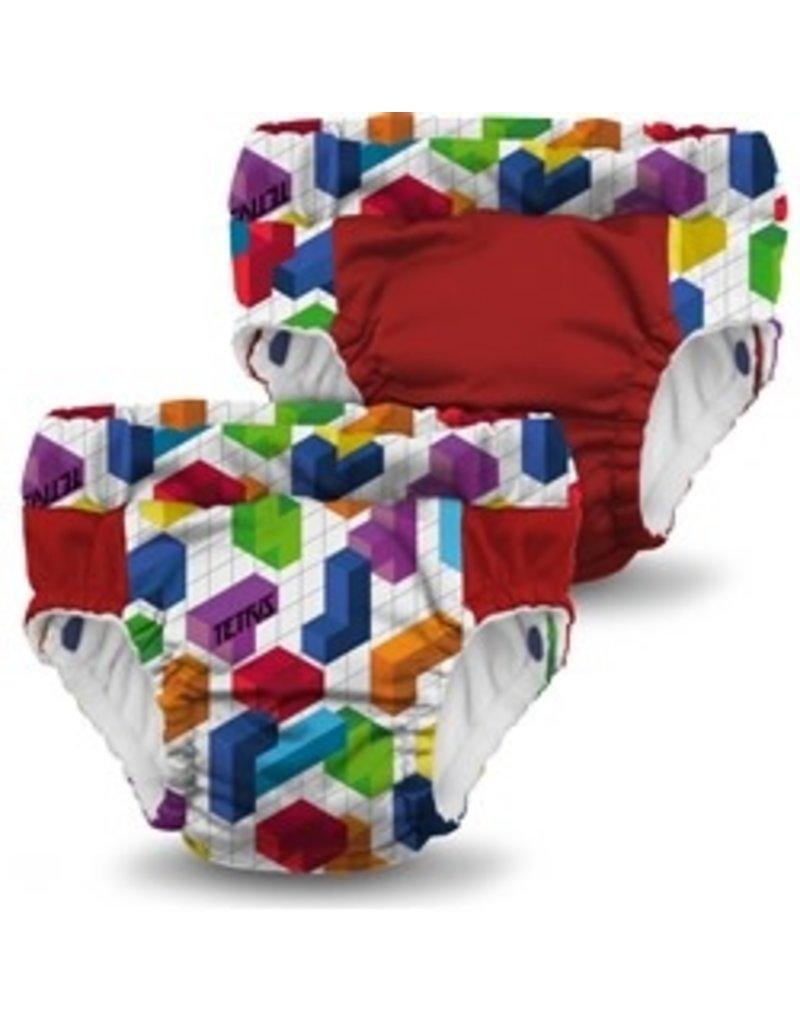 Rumparooz Rumparooz Lil Learnerz Trainers Ltd Ed Tetris Block Party XL - 2 Pack