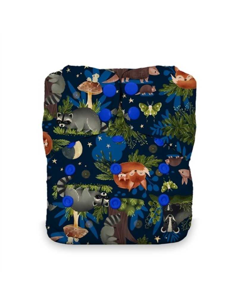 Thirsties Thirsties Natural One Size All in One - Prints