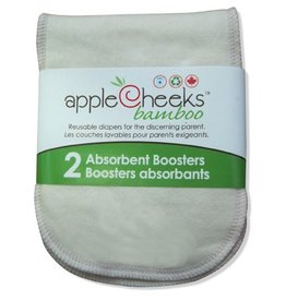 Apple Cheeks Bamboo Boosters (2 Pack)