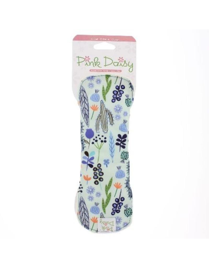 Blueberry Pink Daisy Organic Mama Pads