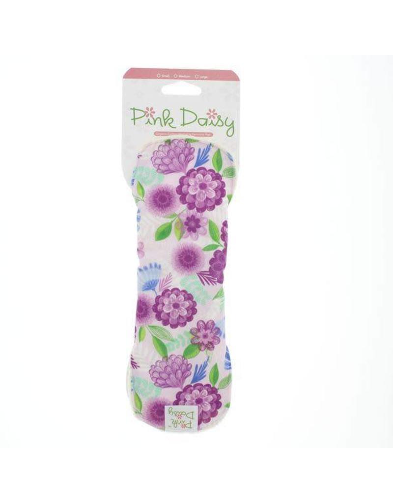 Blueberry Pink Daisy Organic Mama Pad