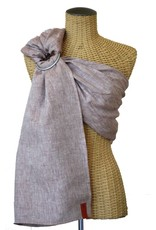 Sakura Bloom Chambray Linen Baby Sling