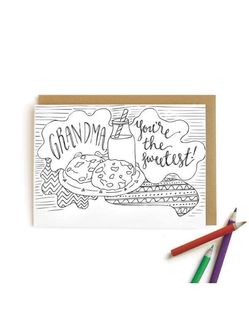 Wild Ink Press Wild Ink Press Coloring Cards
