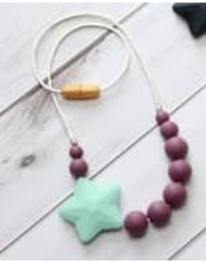Getting Sew Crafty Sili Star Child Necklace