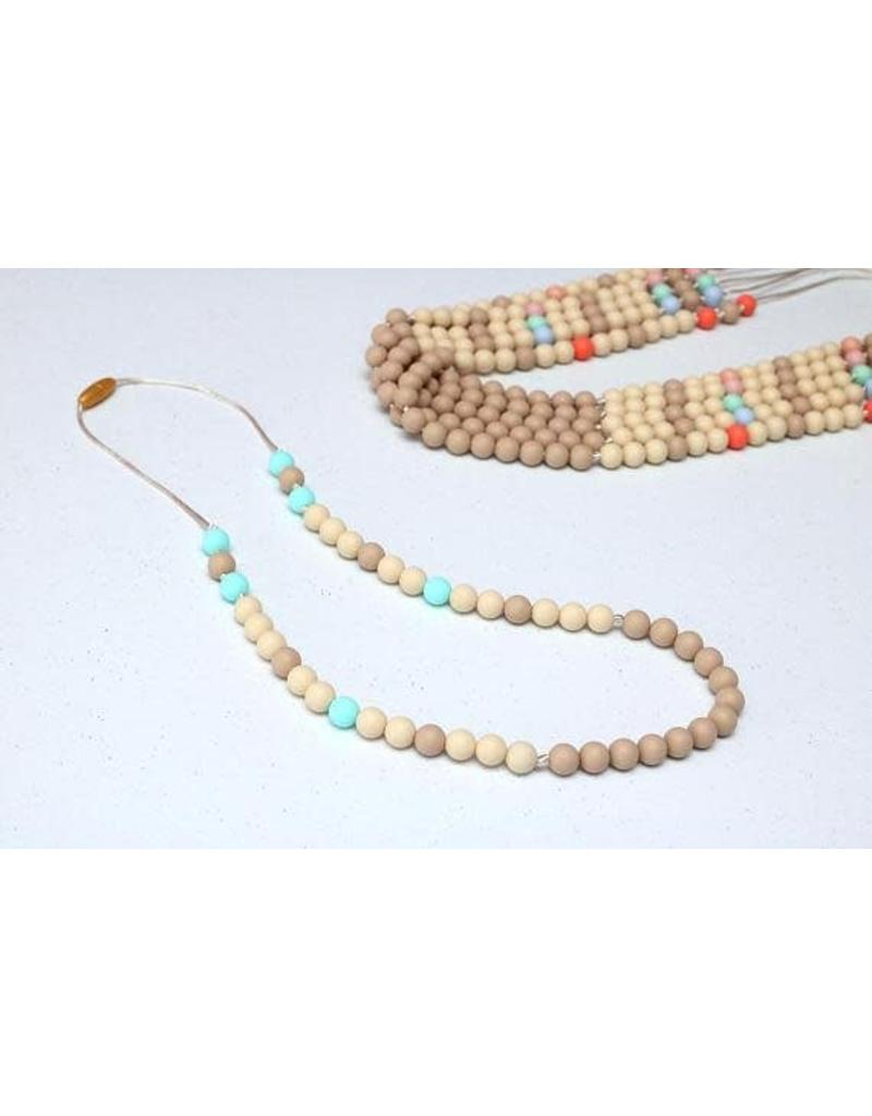 Getting Sew Crafty Sili Bead Adult Necklace