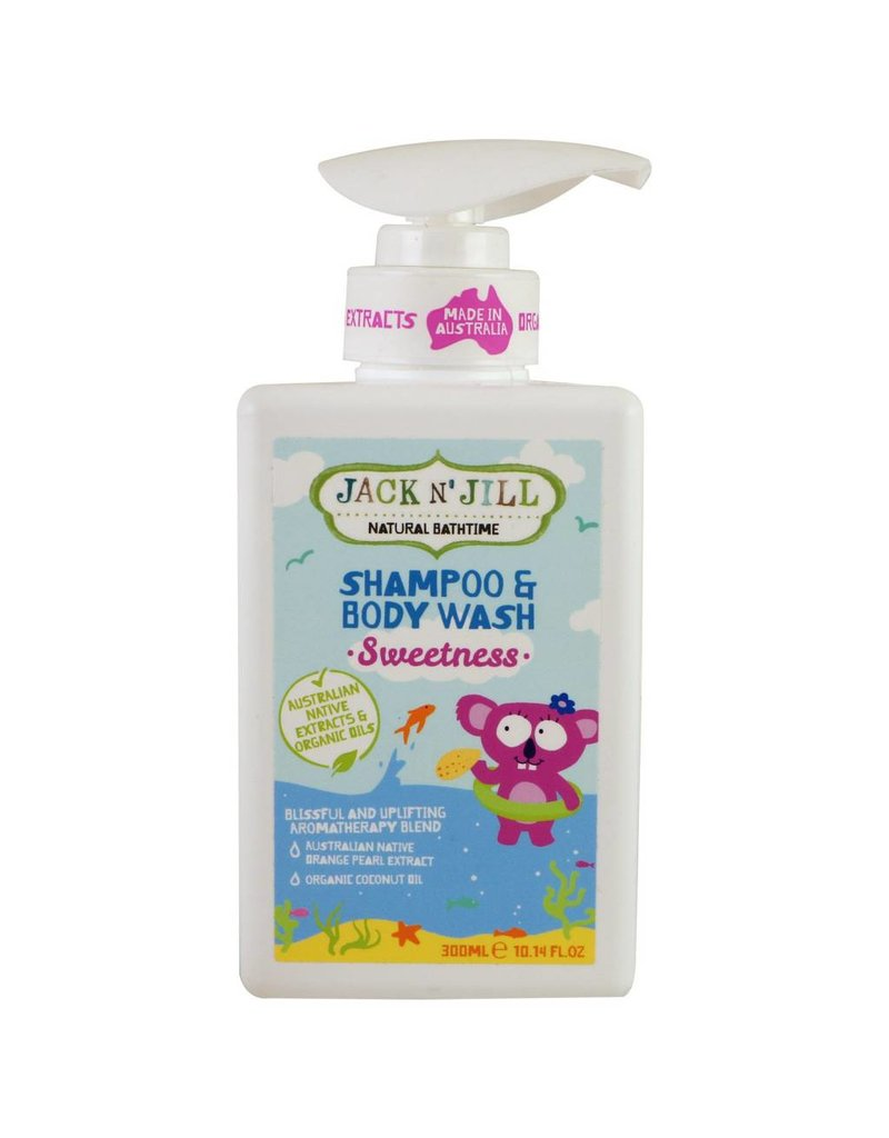 Jack N' Jill Bath Time Shampoo Wash