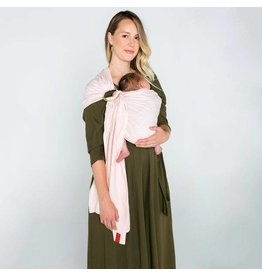Sakura Bloom Basics Linen Ring Sling