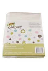 OsoCozy Bamboo Flat Diapers